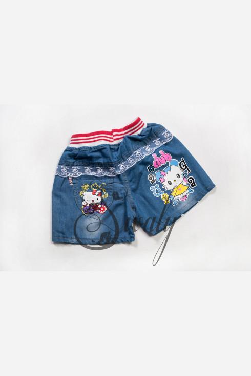 "Шорты джинсовые ""Hello Kitty"""