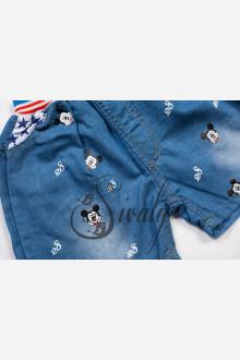 """Шорты джинсовые """"Mickie Mouse"""""""