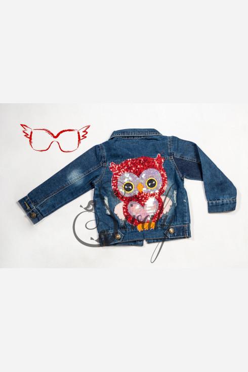 """Куртка джинсовая """"Owl"""""""