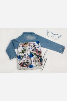 "Куртка ""Floral motif"""