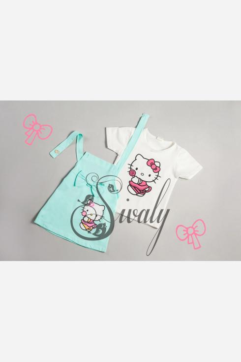 "Сарафан ""Hello Kitty"" с футболкой"